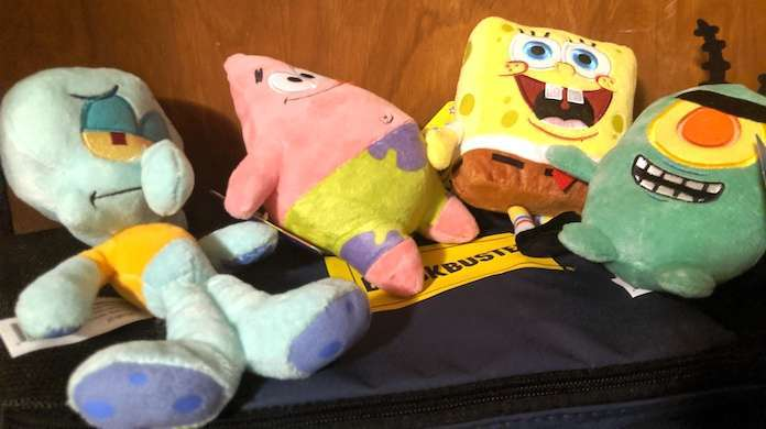 SpongeBob-plush