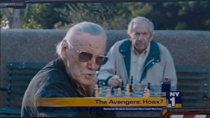 stan lee the avengers cameo