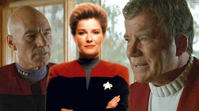 Star Trek Janeway Kirk Picard