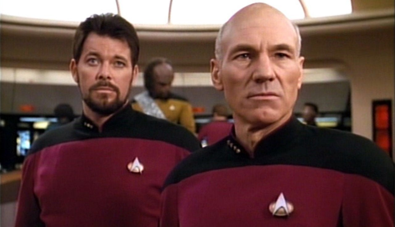 Star Trek: Picard Reunites Jonathan Frakes and Patrick Stewart in New Photo