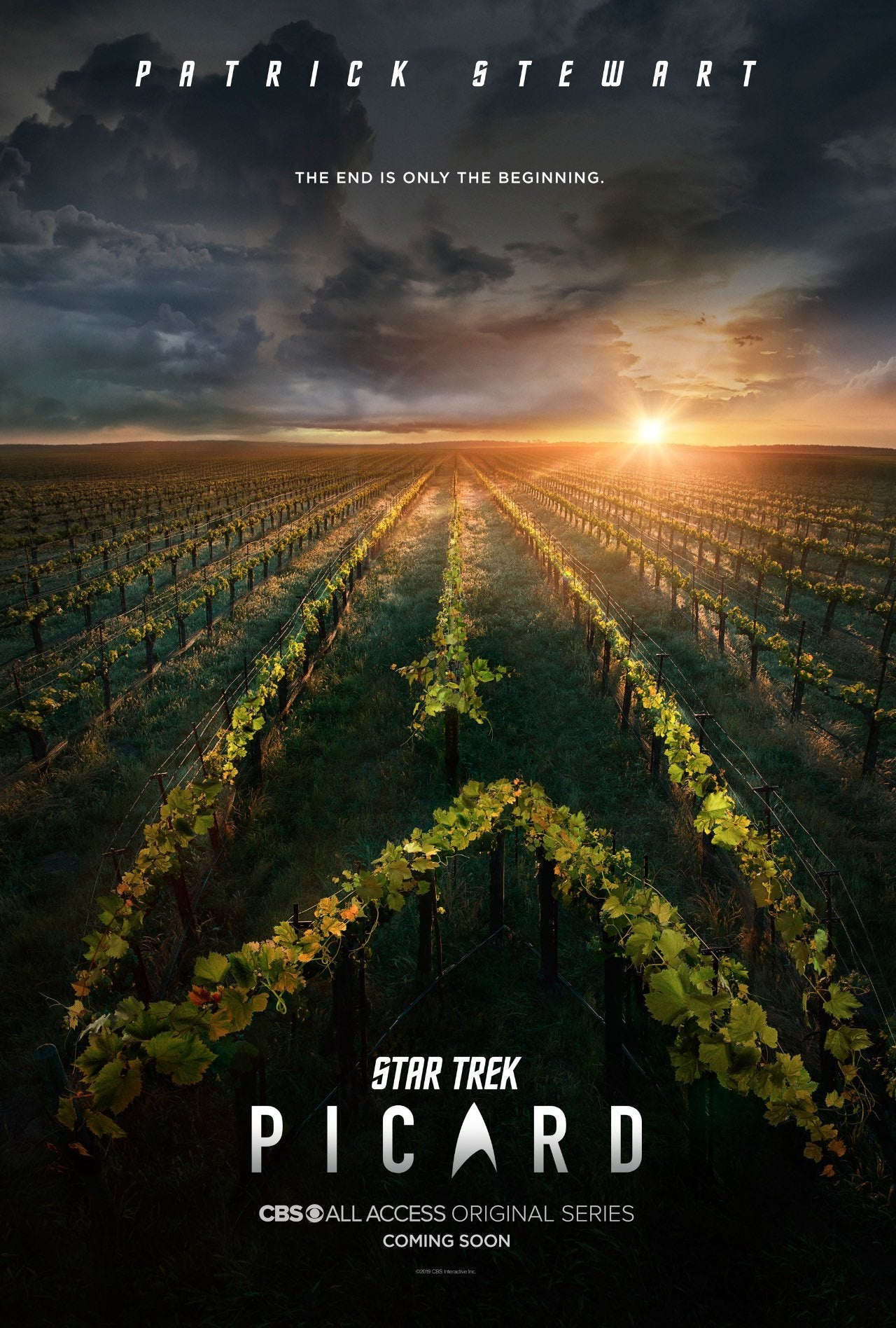STAR TREK PICARD_Teaser Key Art