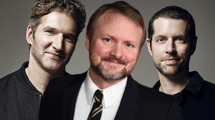 star wars new films rian johnson db weiss david beinoff