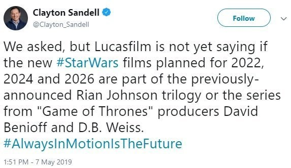 star wars new movies details release dates