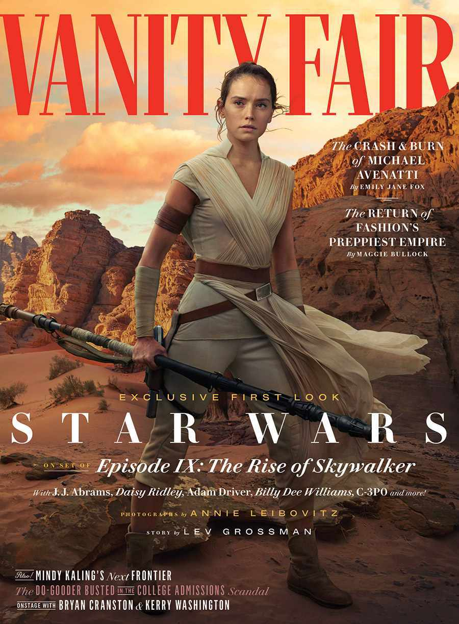 Star Wars Rise of Skywalker Vanity Fair
