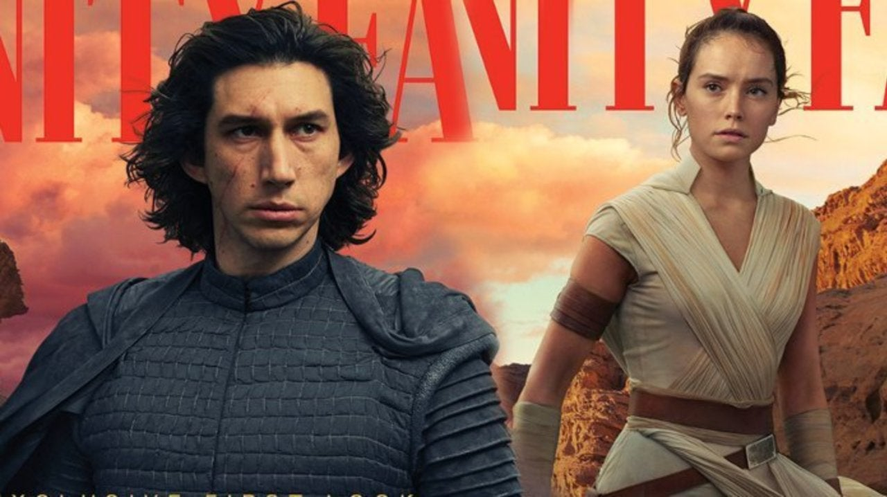 Star Wars: The Rise of Skywalker First Look Reveals New Rey, Kylo Ren Costumes