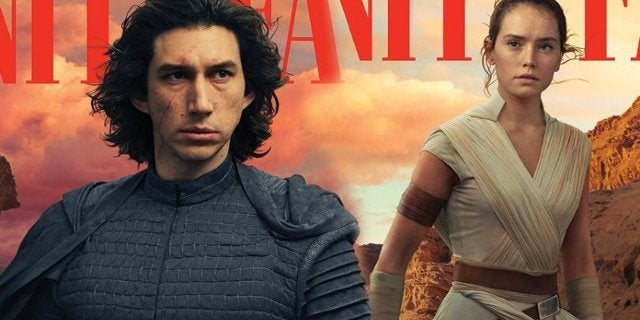 Star Wars Rise of Skywalker Vanity Fair Covers