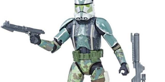 The Star Wars Black Series Clone Commander Gree Toys 'R