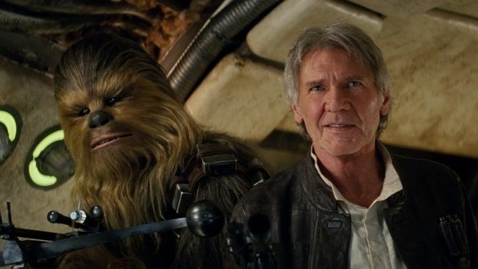 Star Wars The Force Awakens Chewbacca Han