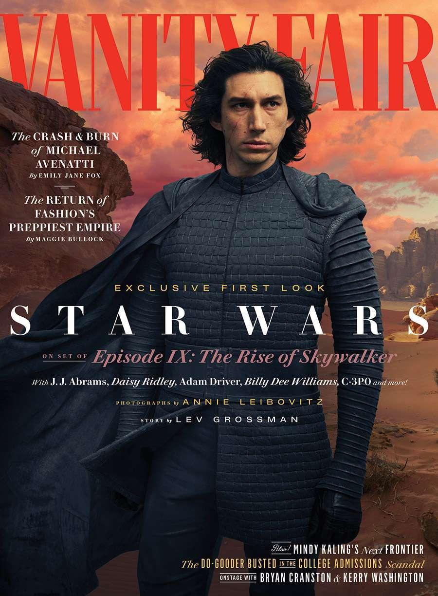 Star Wars The Rise Of Skywalker First Look Reveals New Rey Kylo Ren Costumes