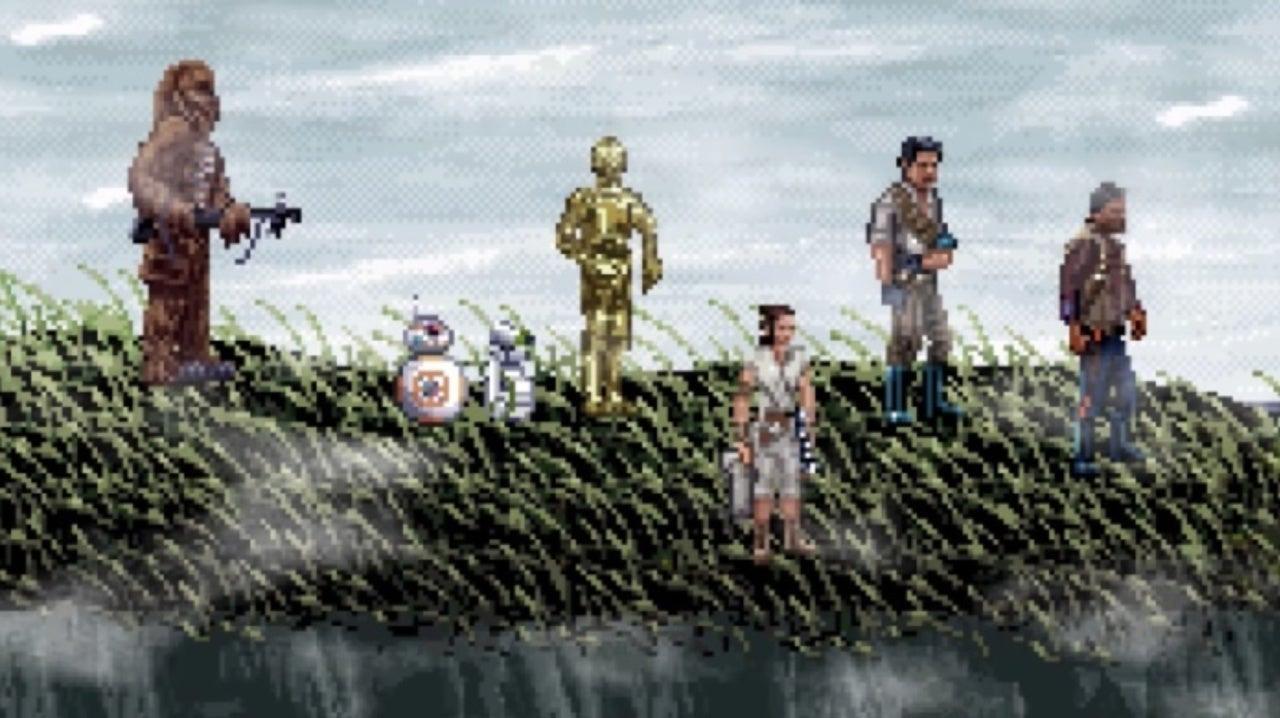 Star Wars: The Rise of Skywalker Gets a 16-Bit Trailer