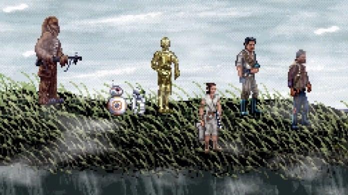 star wars the rise of skywalker trailer 16 bit