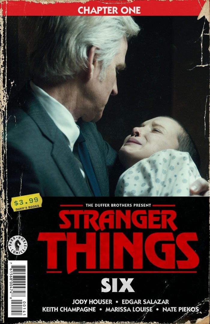 stranger things six comic cover variant