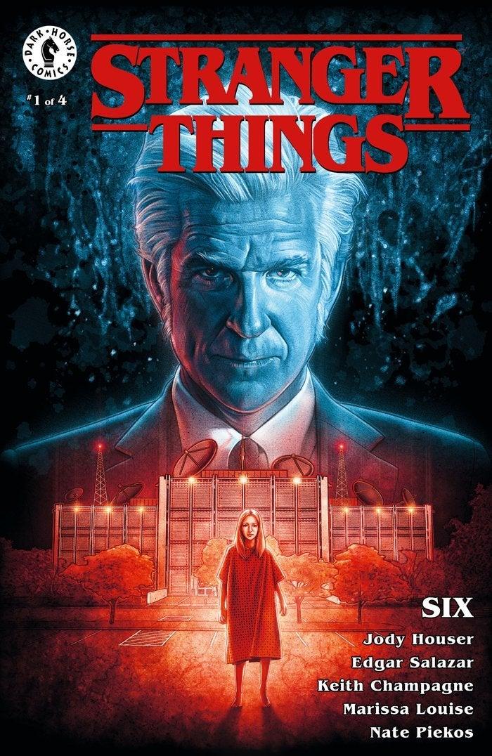 stranger things six comic cover variant 2