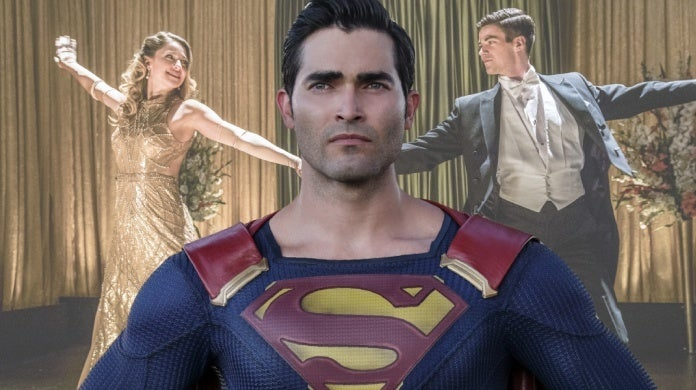 supergirl tyler hoechlin musical episode