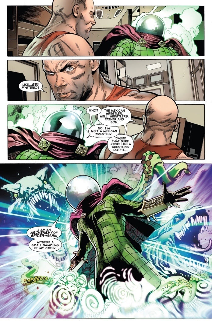 Symbiote SpiderMan Mysterio Hardrock
