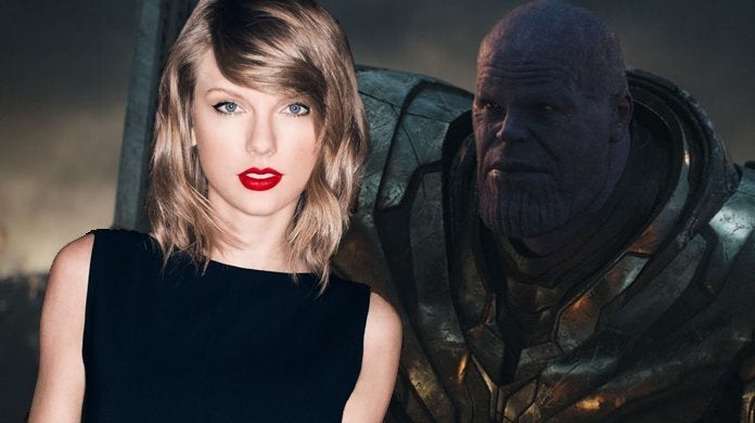 taylor swift avengers endgame thanos