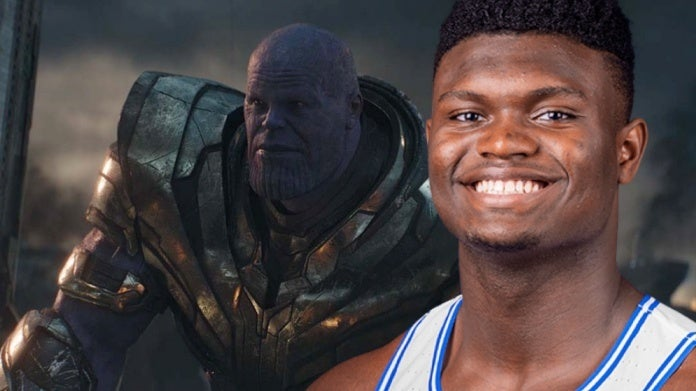 Thanos Avengers Endgame Zion Williamson comicbookcom