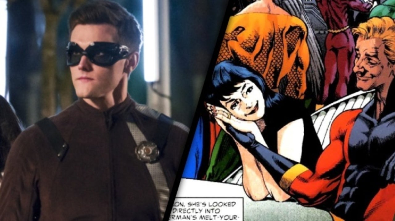 The Flash: Hartley Sawyer on the Possibility of a Ralph and Sue