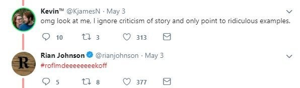 the last jedi rian johnson twitter troll