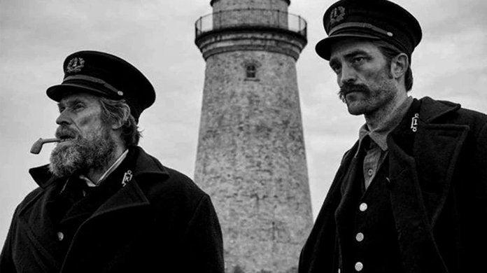 the lighthouse movie willem dafoe robert pattinson