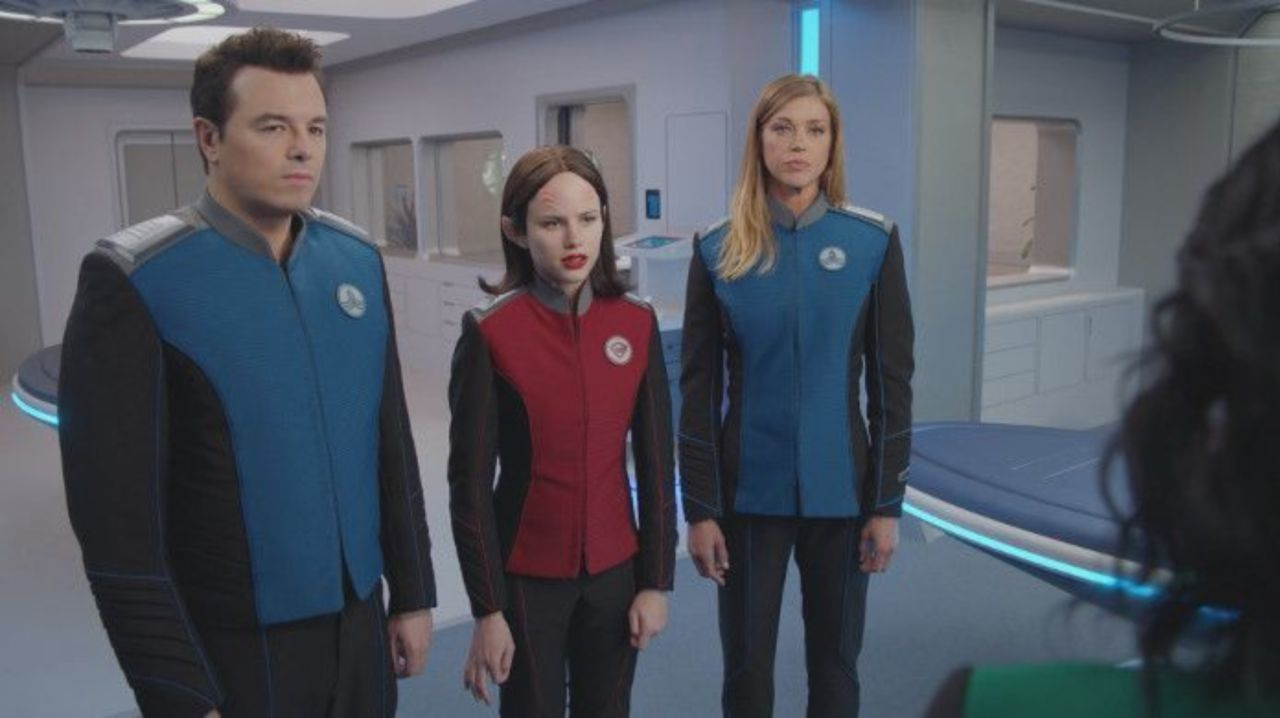 'The Orville' Producer Talks Halston Sage's Future With the Series