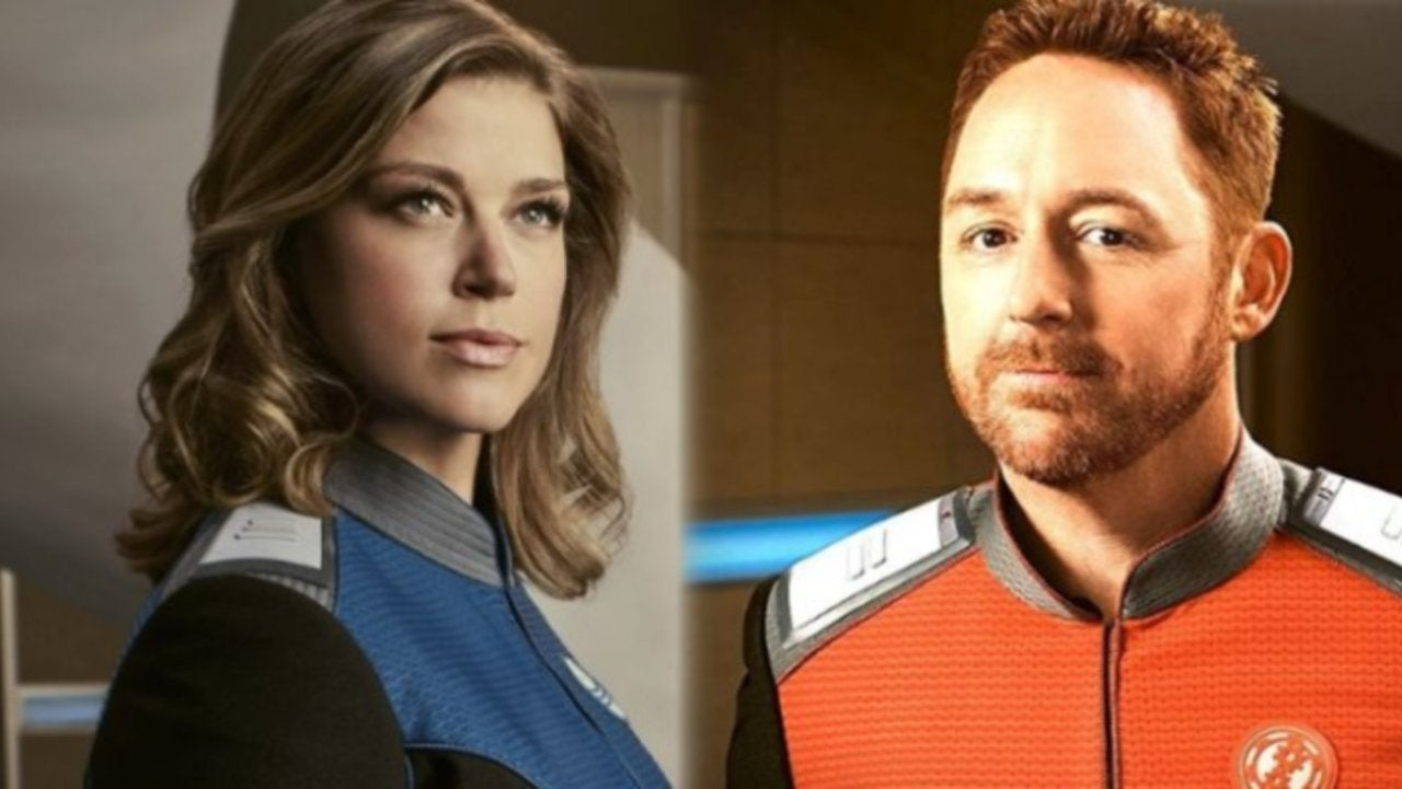 The Orville Stars Adrianne Palicki and Scott Grimes Got Married