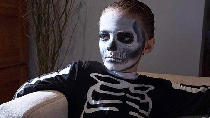 the prodigy movie skeleton kid