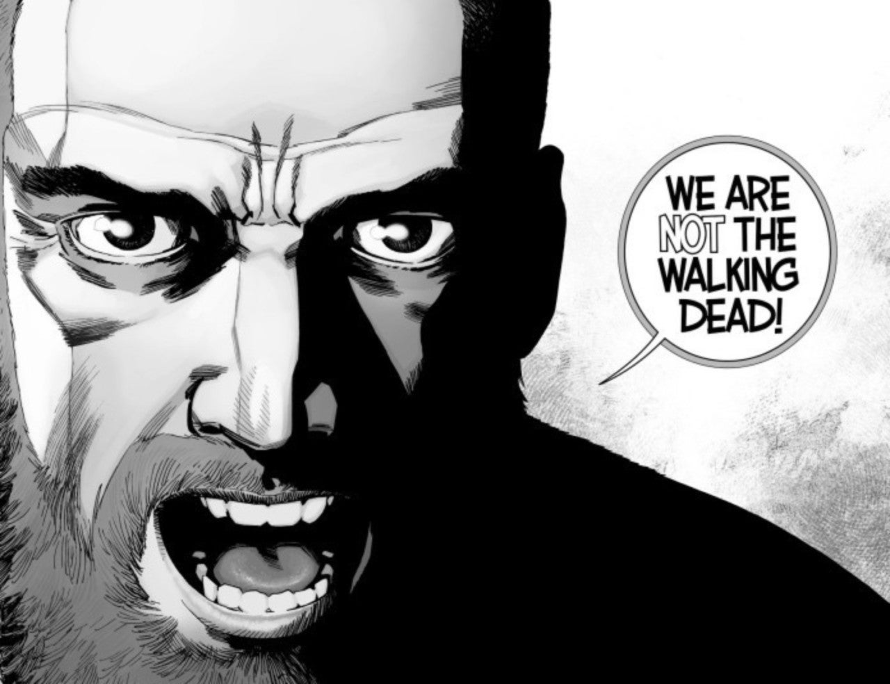 The Walking Dead Adds Blank Variant For Rick's Final Issue