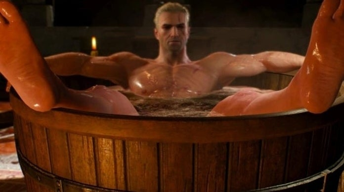 The Witcher 3 Geralt Tub Statue