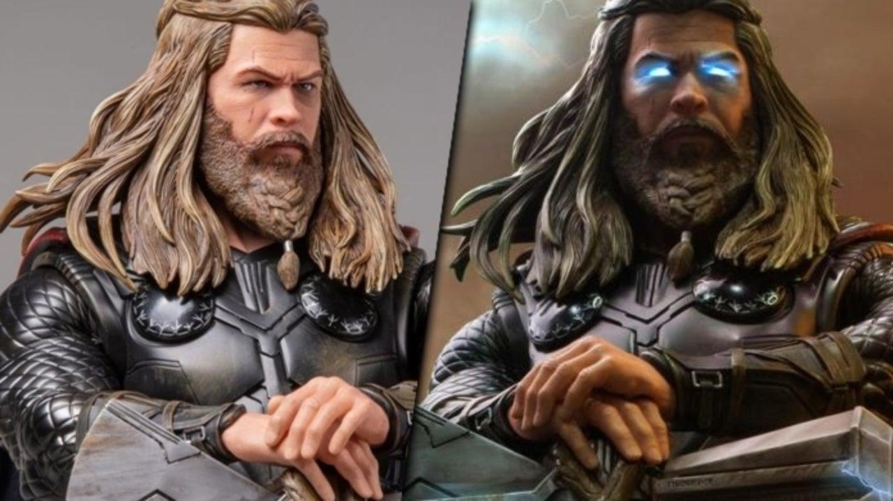 Iron Studios Unveils Amazing Avengers Endgame Thicc Thor Statue