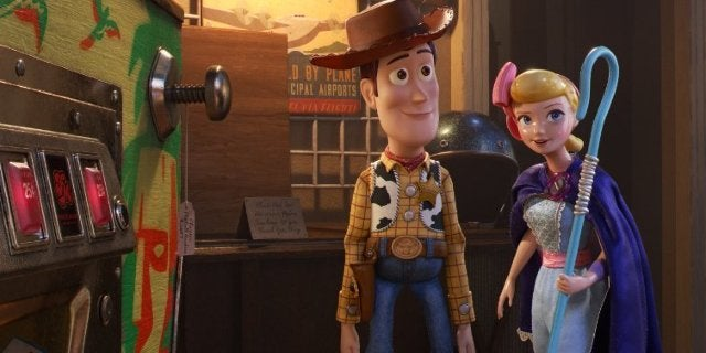 Toy Story 4 Woody Bo Peep