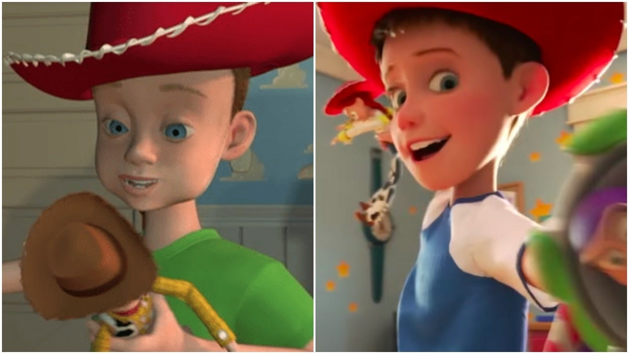 toy story andy changes