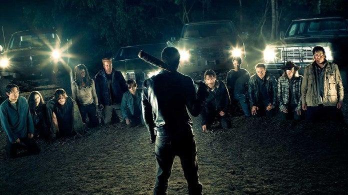 Walking Dead season 7 Negan lineup