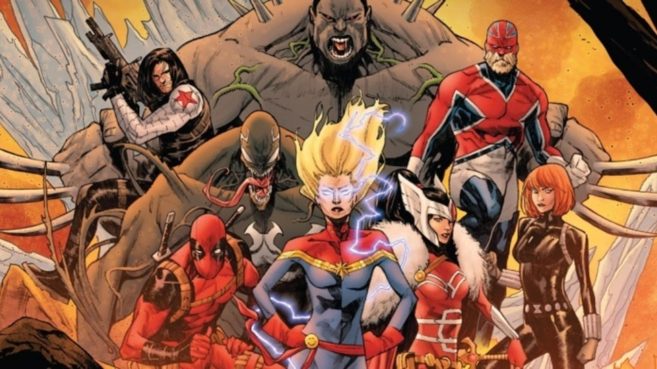 Captain Marvel Leads a New Team of Avengers That Includes Deadpool and Venom