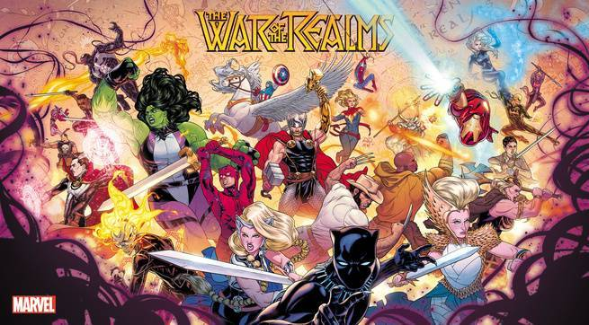 War of the Realms Summer Event - Cover
