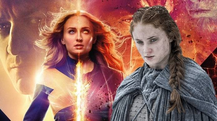 x men dark phoenix game of thrones sophie turner jean grey sansa stark