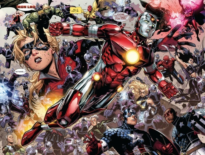 Young Avengers Iron Lad