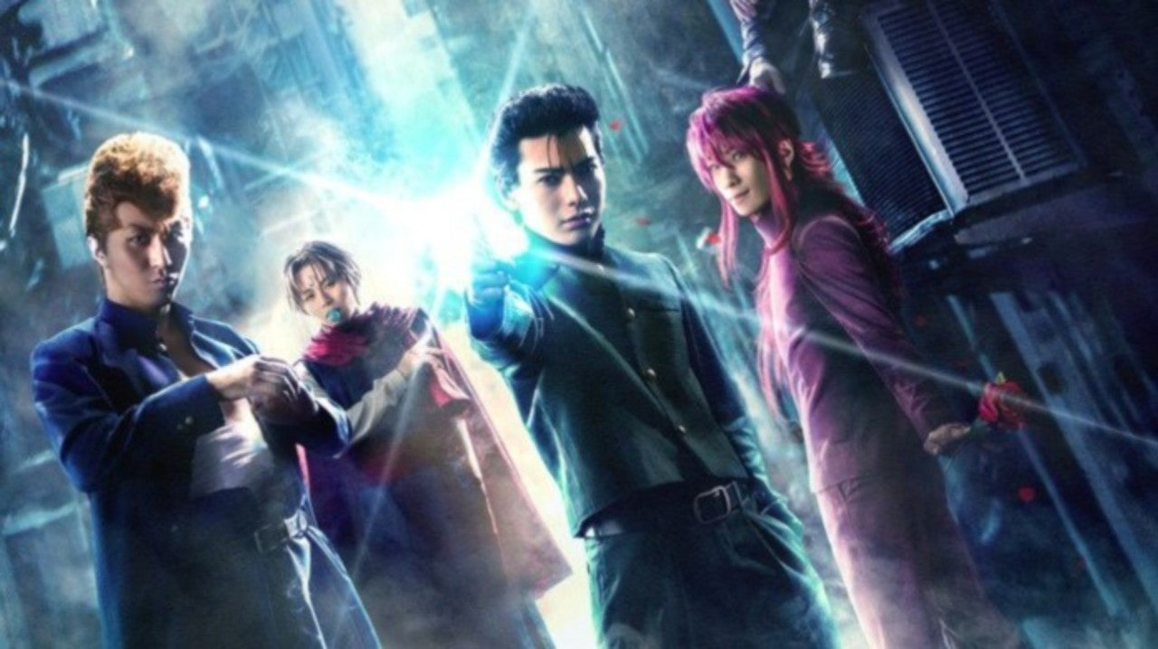 Yu Yu Hakusho Live Action Play Announced With First Poster