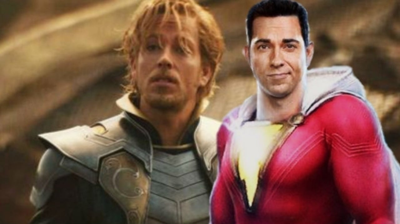 Zachary Levi Says He Had More Fun Working for DC Than Marvel