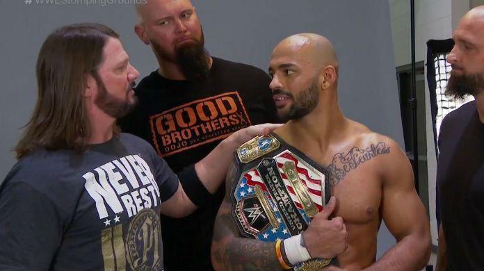 AJ-Styles-Ricochet-WWE-Raw