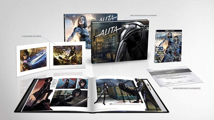 Alita: Battle Angel Gets a Signed, Limited Edition 4K Blu-ray