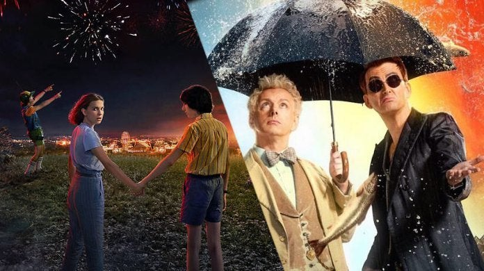 Amazon Cancel Stranger Things Netflix Good Omens Petition