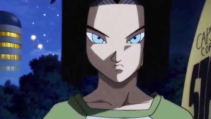 android 17 dragon ball heroes
