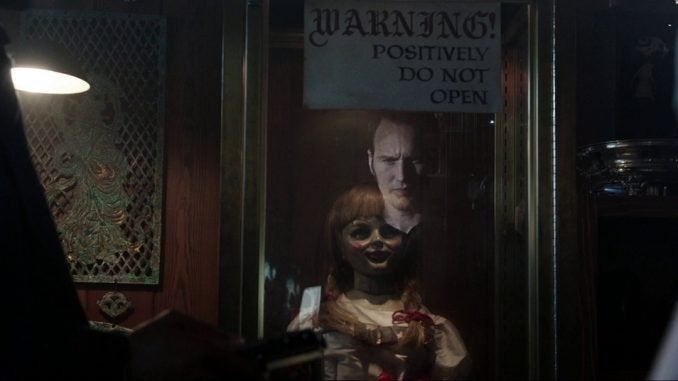 annabelle comes home movie doll patrick wilson