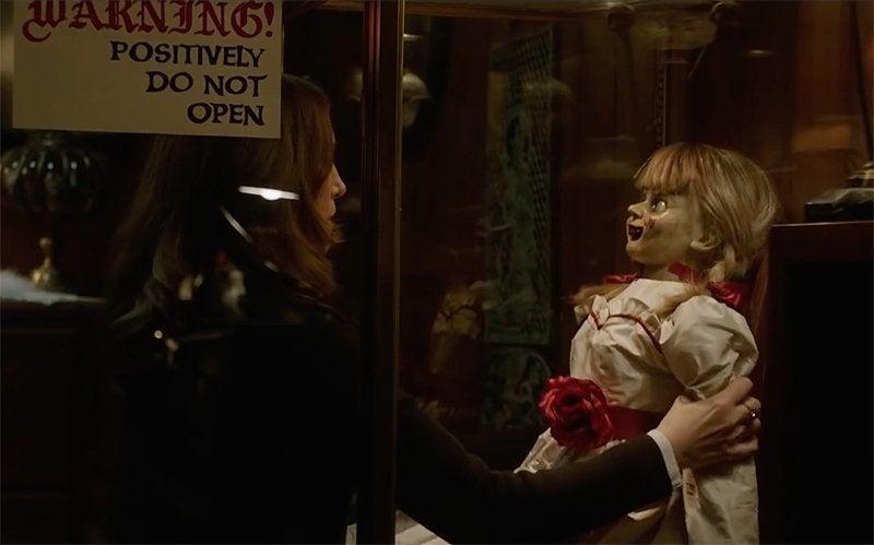 annabelle comes home vera farmiga doll