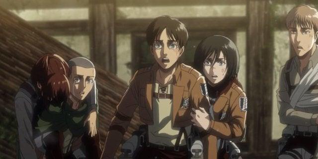 Attack on Titan Episode 55 Armin Alive Colossus Titan Powers