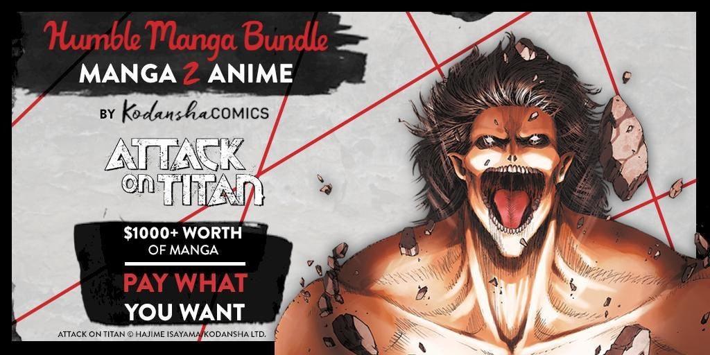attack on titan humble bundle
