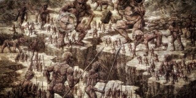 Attack on Titan Titans Origin Story War Revealedjpg