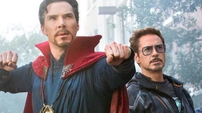 Avengers Doctor Strange Iron Man