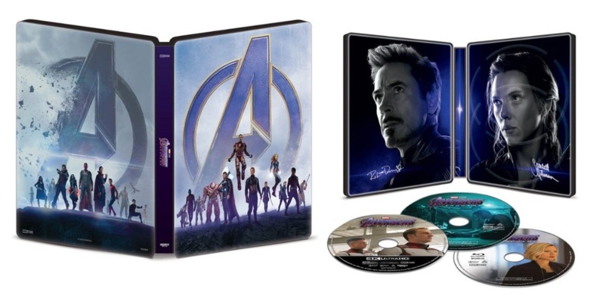 Avengers Endgame Best Buy steelbook